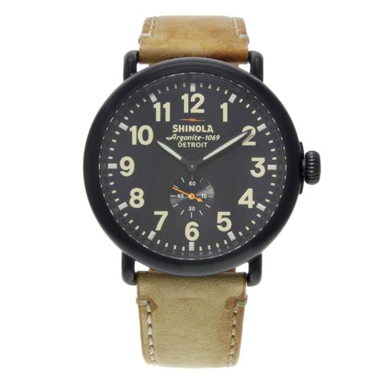 Preload https://img-static.tradesy.com/item/24106315/shinola-black-the-runwell-pvd-steel-dial-quartz-mens-10000011-watch-0-0-540-540.jpg