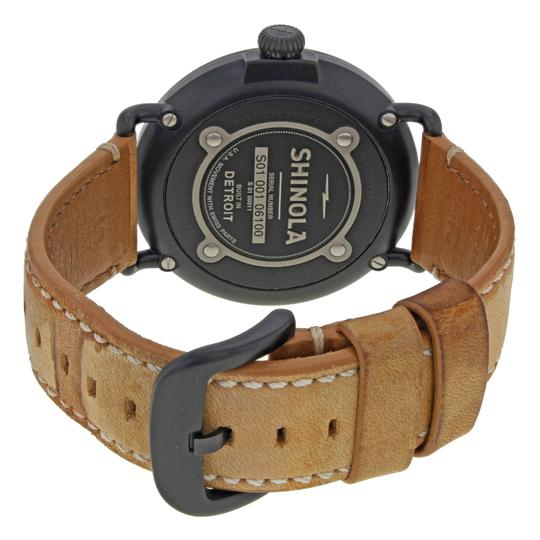 Shinola The Runwell Black PVD Steel Black Dial Quartz Mens Watch 10000011