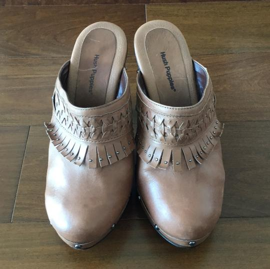 Hush Puppies Brown Mules