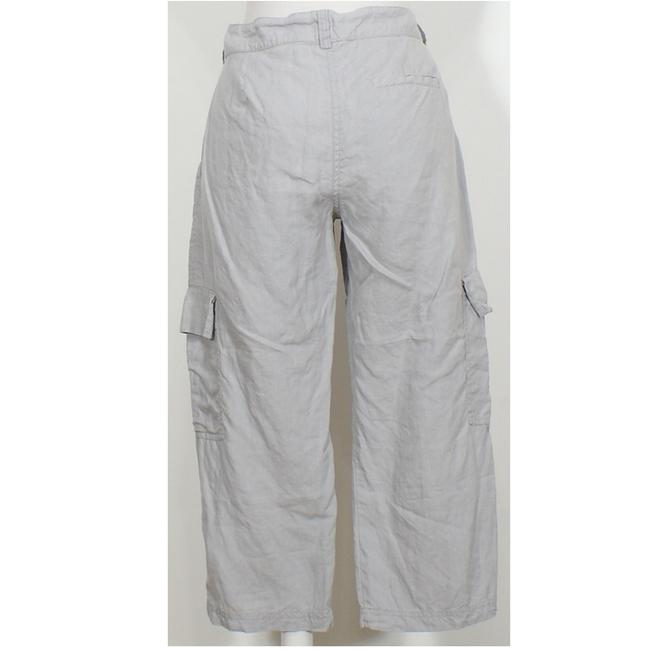 Eileen Fisher Capri/Cropped Pants Silver Gray