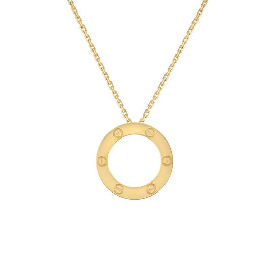 Preload https://img-static.tradesy.com/item/24106384/cartier-love-yellow-gold-necklace-0-0-540-540.jpg
