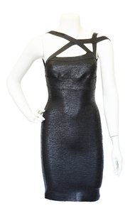 Hervé Leger Fitted Dress