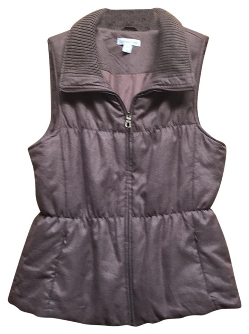 Preload https://img-static.tradesy.com/item/24106436/coldwater-creek-light-brown-vest-size-14-l-0-3-650-650.jpg