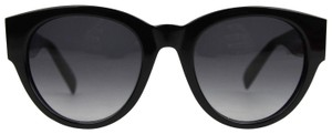 Alexander McQueen Black Acetate Sunglasses Spike Detail AM0054S 442136 1007