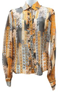 Dolce&Gabbana Dolce & Gabbana Sheer Top MULTICOLOR