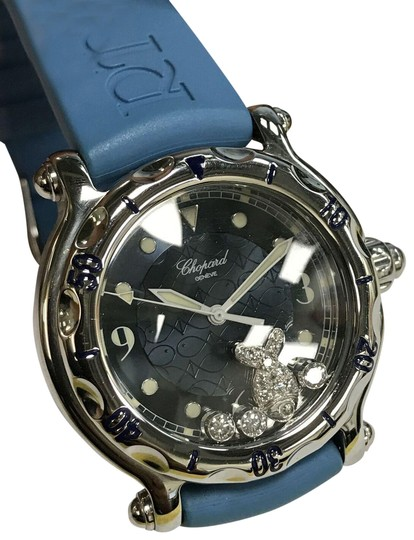 Preload https://img-static.tradesy.com/item/24106484/chopard-blue-happy-fish-288347-3007-stainless-steel-quartz-ladies-watch-0-1-540-540.jpg