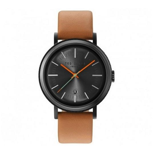 Preload https://img-static.tradesy.com/item/24106531/ted-baker-10031504-men-s-brown-leather-band-with-grey-analog-dial-watch-0-0-540-540.jpg
