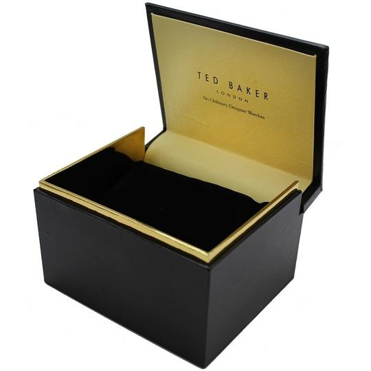 Ted Baker 10031504 Men's Brown Leather Band With Grey Analog Dial Watch