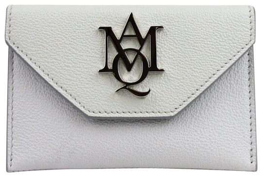 Preload https://img-static.tradesy.com/item/24106541/alexander-mcqueen-whiteivory-whiteivory-two-tone-leather-card-holder-439197-9870-wallet-0-1-540-540.jpg