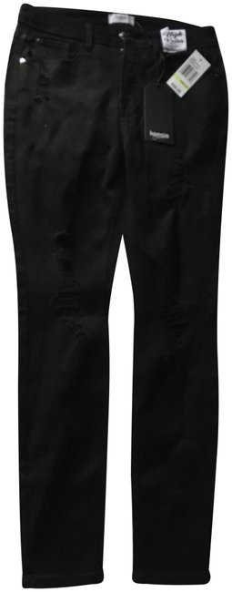 Preload https://img-static.tradesy.com/item/24106542/kensie-black-legging-jeans-pants-size-4-s-27-0-1-650-650.jpg