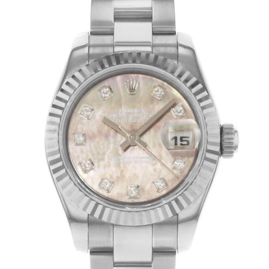 Rolex Datejust 179160 wro White Dial Stainless Steel Ladies Watch