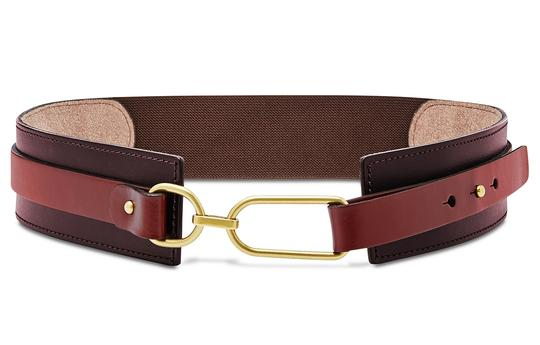 Preload https://img-static.tradesy.com/item/24106595/fossil-red-and-burgundy-leather-rumi-stretch-waist-belt-0-0-540-540.jpg