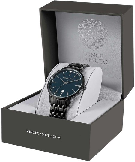 Preload https://img-static.tradesy.com/item/24106596/vince-camuto-black-vc1074nvti-stainless-steel-men-s-watch-0-1-540-540.jpg
