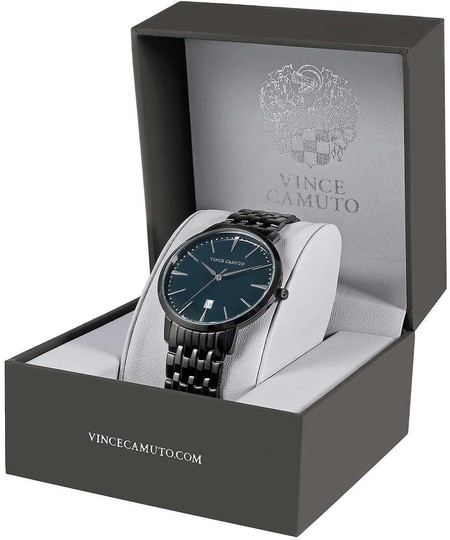 Vince Camuto Vince Camuto VC/1074NVTI Black Stainless Steel Men's Watch