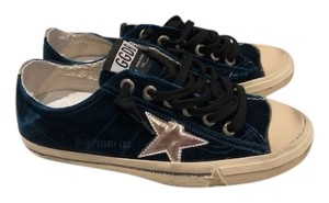 Golden Goose Deluxe Brand blue velvet Athletic