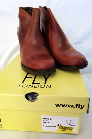 FLY London brick Boots