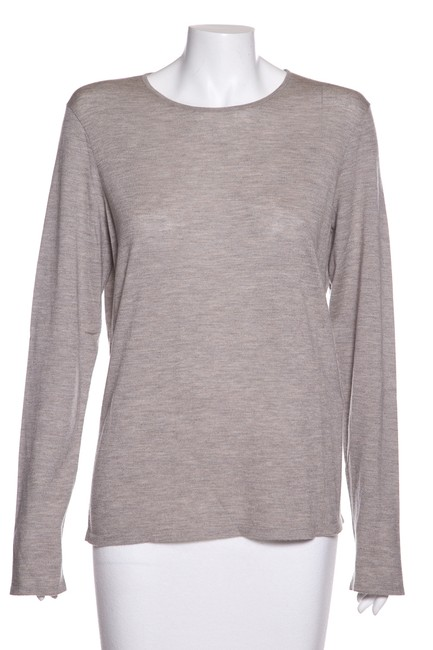 Preload https://img-static.tradesy.com/item/24106668/ralph-lauren-cashmere-knit-grey-sweater-0-0-650-650.jpg