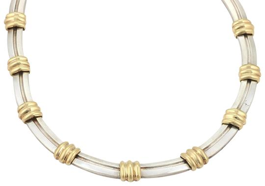 Preload https://img-static.tradesy.com/item/24106670/tiffany-and-co-atlas-1995-sterling-18k-yellow-gold-grooved-collar-necklace-0-1-540-540.jpg
