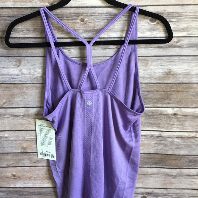 Lululemon NWT lululemon swiftly tech strappy tank enchanted iris size 10