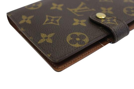 Louis Vuitton LOUIS VUITTON Agenda PM Monogram Canvas Day Planner Cover