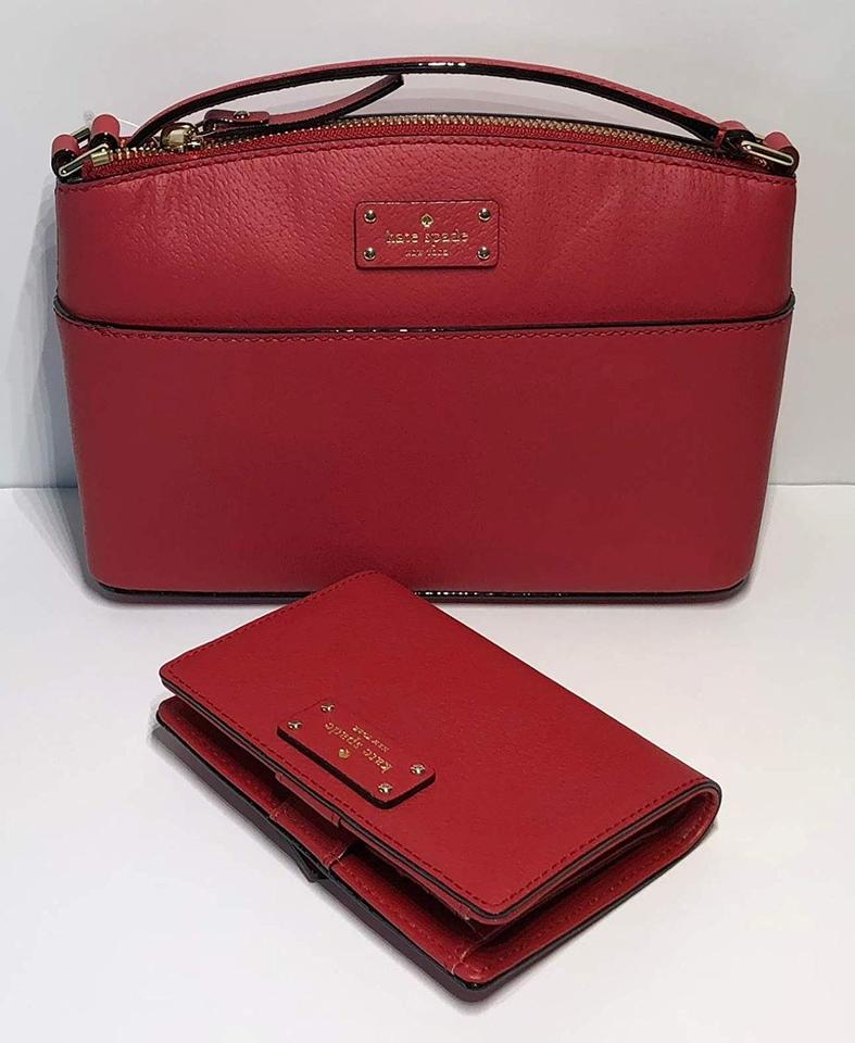 e6761adad4 Kate Spade Grove Street Millie and Matching Tellie Wallet Red Carpet ...