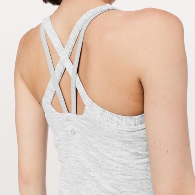 Lululemon NWT lululemon rally your heart tank WSNB wee are from space nimbus battleship size 12