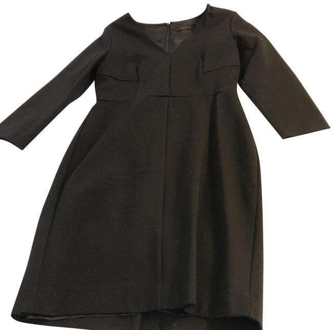 Preload https://img-static.tradesy.com/item/24106735/jcrew-black-mid-length-workoffice-dress-size-6-s-0-1-650-650.jpg