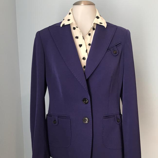 Preload https://img-static.tradesy.com/item/24106737/les-copains-purple-two-button-violet-lined-blazer-size-10-m-0-2-650-650.jpg