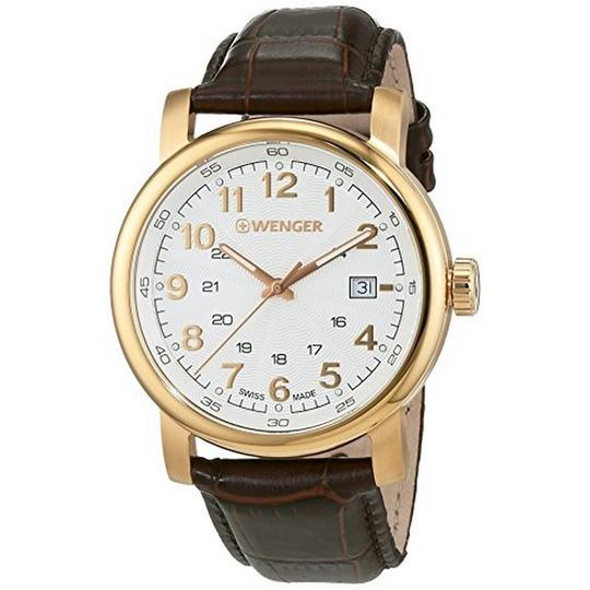 Preload https://img-static.tradesy.com/item/24106749/wenger-011041118-men-s-brown-leather-band-with-white-analog-dial-watch-0-1-540-540.jpg