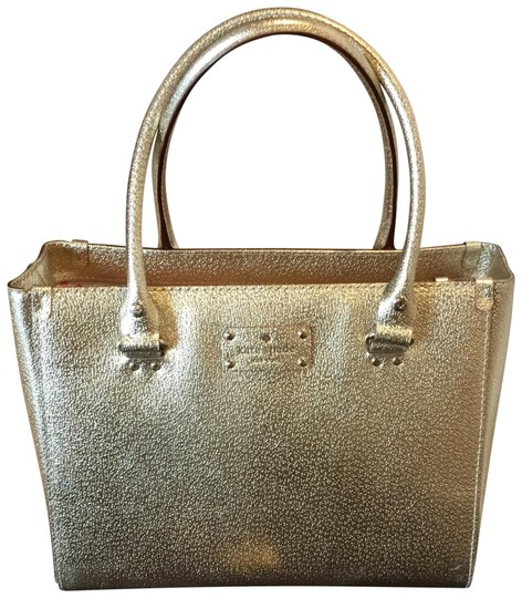 Preload https://img-static.tradesy.com/item/24106752/kate-spade-metallic-sam-medium-gold-leather-satchel-0-1-540-540.jpg