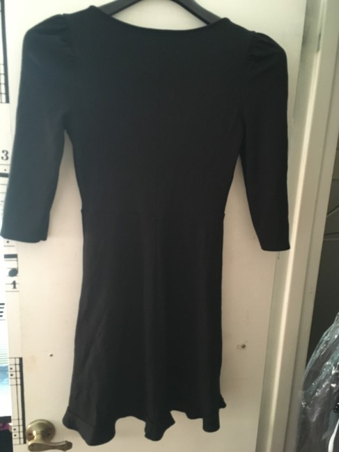 Express short dress black V-neck on Tradesy