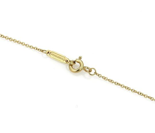 Tiffany & Co. 1837 Horse Shoe 18k Yellow Gold Pendant & Chain