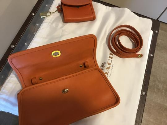 Coach Vintage Includes Wallet Leather Cross Body Bag