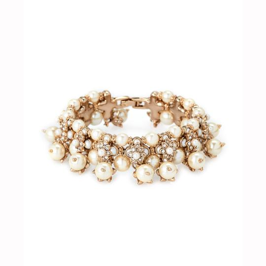 Marchesa NWOT Marchesa gold tone Mother of Pearl Bracelet