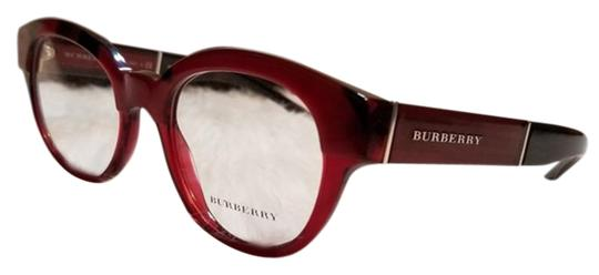 Preload https://img-static.tradesy.com/item/24106825/burberry-rx-burgundy-women-oval-eyeglasses-plastic-frame-with-demo-lens-0-2-540-540.jpg