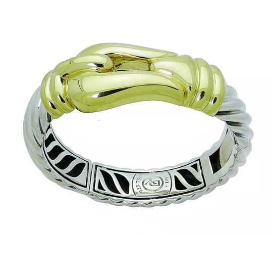 Preload https://img-static.tradesy.com/item/24106841/david-yurman-18k-gold-and-925-sterling-silver-large-buckle-bangle-bracelet-0-0-540-540.jpg