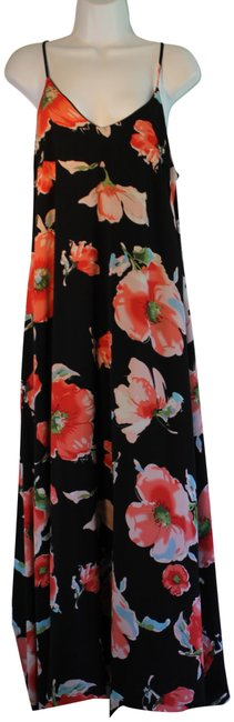 Preload https://img-static.tradesy.com/item/24106866/multi-black-and-red-floral-mid-length-casual-maxi-dress-size-14-l-0-2-650-650.jpg