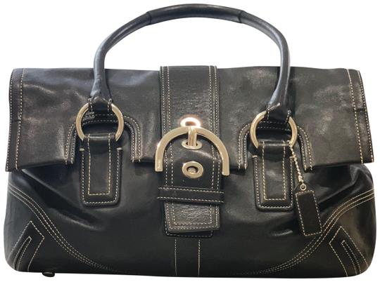 Preload https://img-static.tradesy.com/item/24106867/coach-and-four-black-leather-satchel-0-1-540-540.jpg