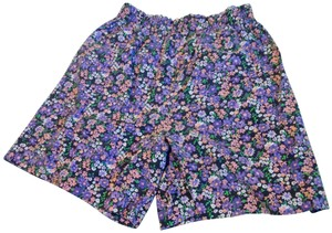 Simply Basic Vintage Skort Multi Print. Flowers