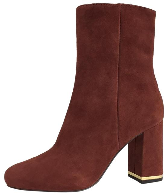 Item - Burgundy New Suede Ankle Winter Boots/Booties Size US 7 Regular (M, B)