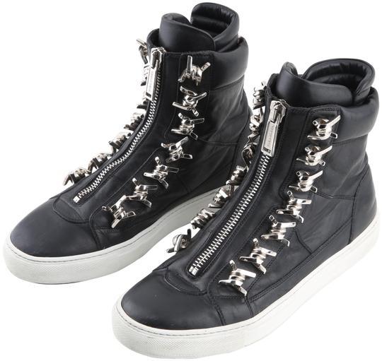 Dsquared2 Black Wire High Top Sneakers