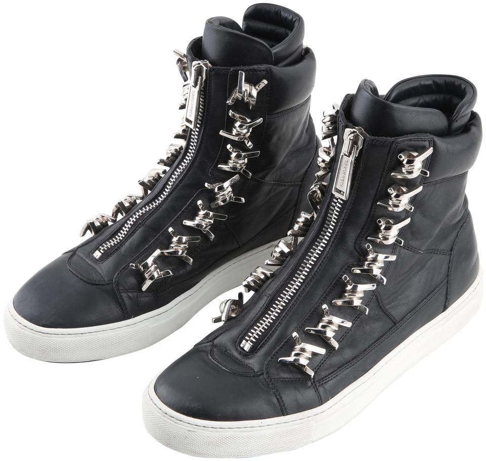 finest selection f3814 7aeae Black Wire High Top Sneakers