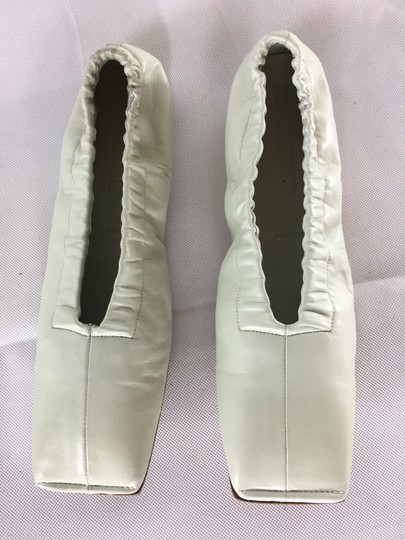 Jil Sander Ballerina Ballet Leather Off white Flats