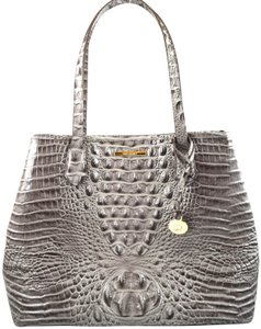 Brahmin Tote in Grey Dove Melbourne