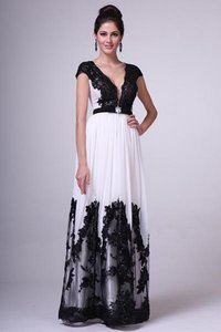 P.R.I.M.A. Glitz By Kari Chang 17-1411 Black And White Wedding Dress