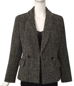 Céline black and white Blazer