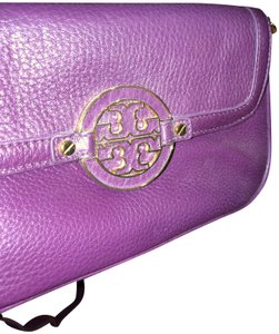 7ce29fa3df75d Purple Tory Burch Cross Body Bags - Up to 90% off at Tradesy