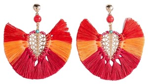 Express express Ombre tassel Filigree Statement earring