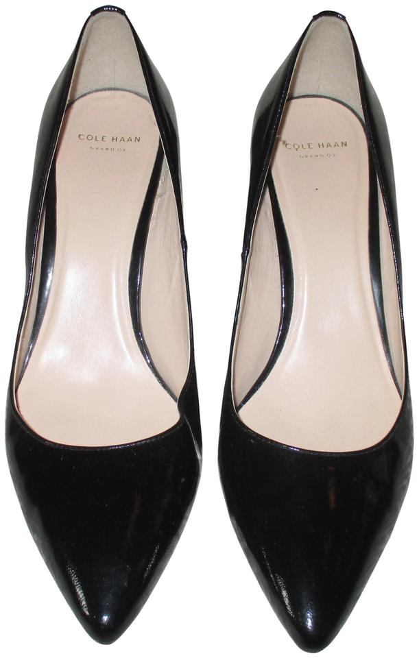 14017ebb1ab Cole Haan Black Grand Os Pointy B Solid Pumps Size US 8.5 Regular (M, B)  34% off retail