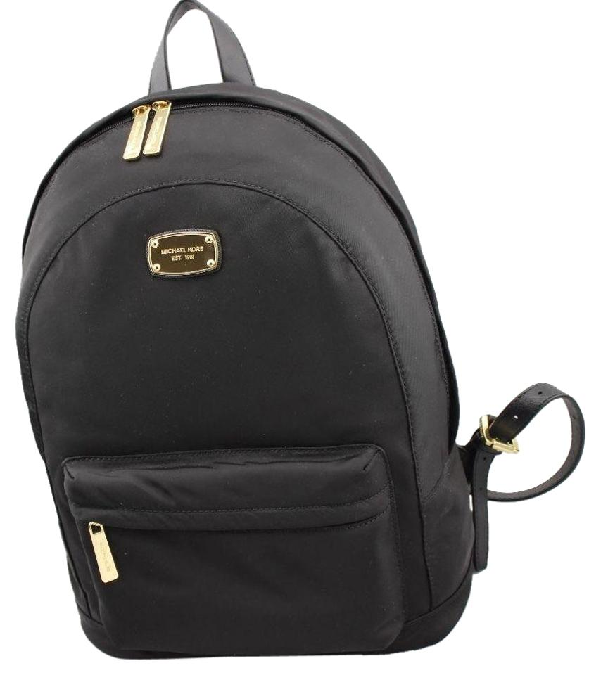 Michael Kors Jet Set Large Black Nylon Backpack - Tradesy aa1808bcf3183